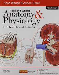 Human Physiology And Anatomy Book Ross U0026 Wilson Anatomy And Physiology In Health And Illness Text