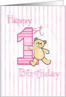 1st birthday cards from greeting card universe