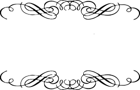 line clipart ornamental pencil and in color line clipart