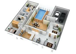 Create 3d Floor Plans by 3d Floor Plan For House Jpg Planos Casa Pint 2 Story Plans House3d