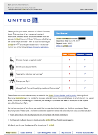 United Airlines Checked Baggage Fee by United Airlines Basic Economy Tickets Are Frustrating Customers