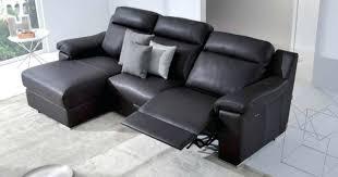 canape cuir electrique canape canape cuir 3 places relax ensemble canapac 2 manuel
