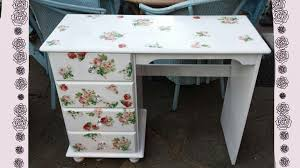diy vintage shabby chic romantic desk transform your old