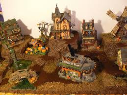 Department 56 Halloween Decorations by Best 25 Halloween Village Display Ideas On Pinterest Christmas