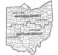 federal circuit court map united states district court for the southern district of ohio