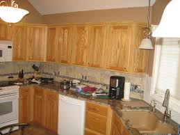 oak cabinets with granite kitchen backsplash with oak cabinets granite with oak what color