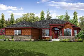 new shingle style ranch house plan is charming and welcoming
