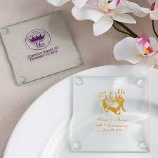 personalized wedding favors cheap personalized glass coaster wedding favors custom coasters