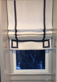 Flat Roman Shades - roman shades gallery window works