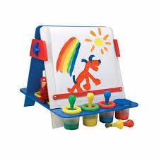 Drawing Desk Kids Scenic Impressions Easel Storage Bins Wood Easel Storage Bins