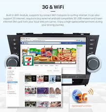 toyota web page 10 1 inch pure android 6 0 2008 2014 toyota highlander radio