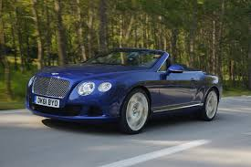 blue bentley bentley continental review and photos