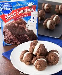 pillsbury chocolate cake cookies recipe food fast recipes