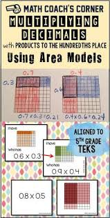where ms green u0027s math grows multiplying decimals with models