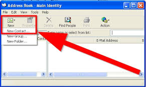 how to create an outlook address book in 2013 how to add addresses to outlook express address book 11 steps