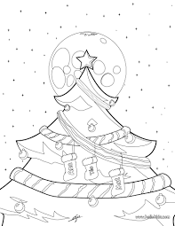 download coloring pages christmas tree lights coloring pages