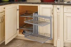 Astounding Blind Corner Kitchen Cabinet Organizers 27 About With