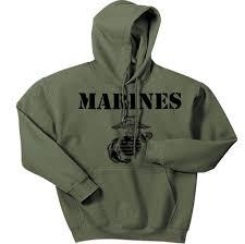 military green vintage marines hoodie cpt u0027s extra 3 discount