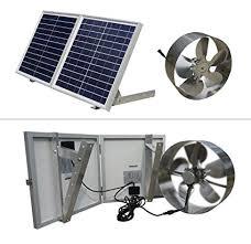 attic fans good or bad eco worthy 25w solar powered attic ventilator gable roof vent fan