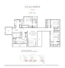 Types Of Floor Plans by Highline Residences Keppel Land Live