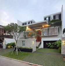 this modern luxury home in kinshasa congo is built around an