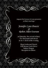 and black wedding invitations inspirational wedding invitation design black and white wedding