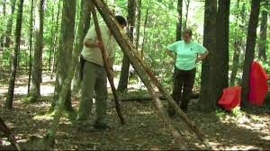 How To Build A Tent How To Build A Tepee Youtube