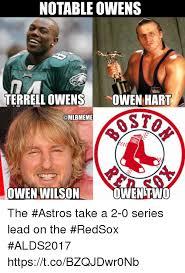 Terrell Owens Meme - notable owens terrell owens owen harl osto owen wilson owen two the