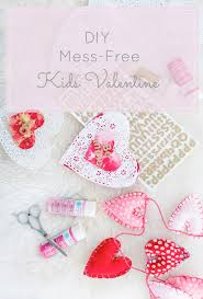 toddler friendly and mess free diy painted valentine u0027s day