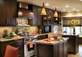 traditional style corner wood kitchen cabinets with granite