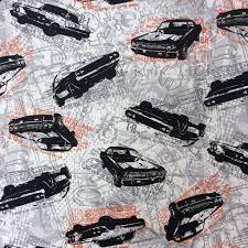 Vintage Ford Truck Fabric - transportation