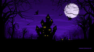 purple halloween wallpapers u2013 halloween wizard