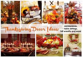 thanksgiving decor ideas centerpieces table settings fall