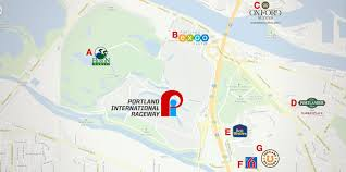 Map Of Portland Airport by Portland International Raceway Lodging U0026 Attractions