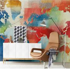 compare prices on world map wallpaper mural online shopping buy