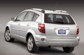 Pontiac Vibe Interior Dimensions 2005 Pontiac Vibe Overview Cars Com