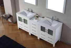 Cheap Vanity Sets Bathroom Vanity Sets Ari Kitchen And Bath Luz White 60inch Single