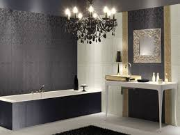 silver and black bathroom thesouvlakihouse com