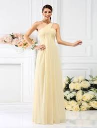 a linie one shoulder trager knielang chiffon brautjungfernkleid p651 a line princess sleeveless sweetheart ruched floor length chiffon