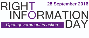 right to information day 2016 office of the information