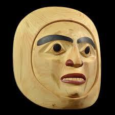 moon mask moon mask by stan bevan tahltan tlingit tsimshian artist w120503