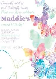 Butterfly Invitations Butterflies Free Printable Birthday Invitation Template