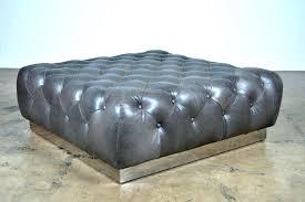 Navy Blue Leather Ottoman Blue Leather Ottoman Coffee Table Table Ottoman White