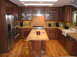 kitchen cabinet dark wood kitchen cabinets oak white wall light