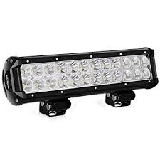 led security light bar led light bar nilight 12 inch 72w led work light spot flood combo