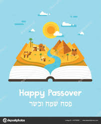 haggadah book passover story haggadah book with landscape abstract