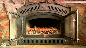 how to start a fire with a napoleon wood burning fireplace youtube