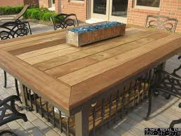 table fire pits designs stunning patio fire table perfect