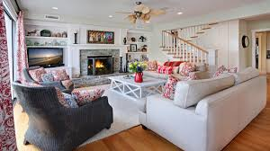 Coastal Livingroom by Houzz Coastal Living Rooms Living Room Decoration