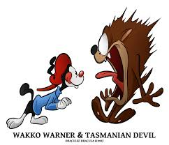 animaniacs cameos wakko n taz by boscoloandrea looney tunes